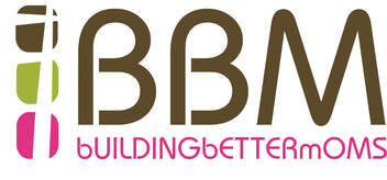 the logo for Building Better Moms (BBM)
